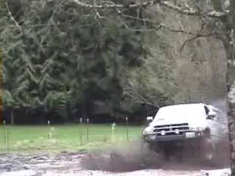 Soot spewing diesel trucks getting muddy!