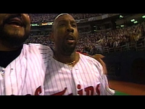 1991 WS Gm 6: Kirby's homer forces Game 7