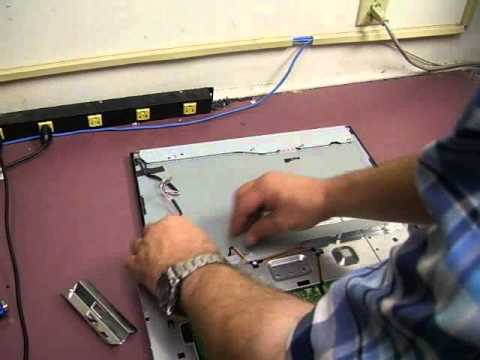 Repairing the Samsung 920n / 920NW monitor Part 1 Dis-assembly