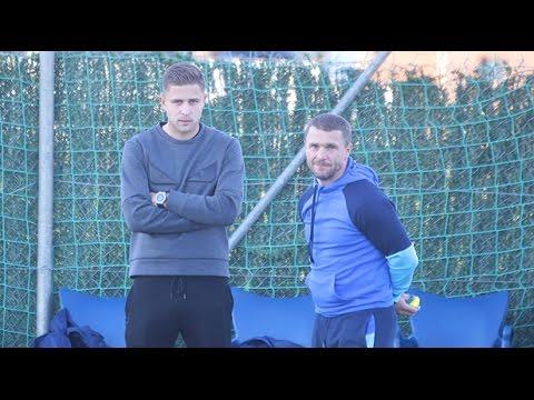 Артем Кравець відвідав тренування Динамо