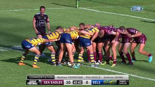 NRL Highlights  Manly Sea Eagles v Parramatta Eels - Round 2