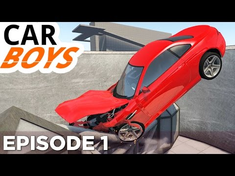 Nick and Griffin Play BeamNG.drive — CAR BOYS, Episode 1