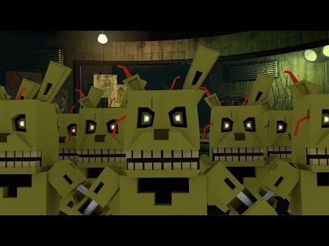 Minecraft | FIVE NIGHST AT FREDDY'S 3 MOD Showcase! (Springtrap, Freddy, Foxy)