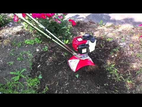 Mantis 4-Cycle Tiller/Cultivator Powered by Honda - Review
