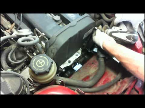 Ford Zetec 2.0 liter timing belt replacement Part II HD
