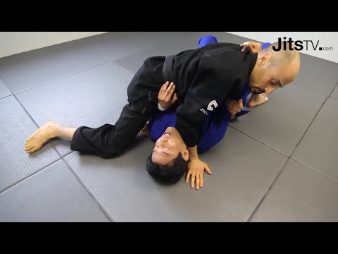 Surprise Armbar from Sidemount - Rob Di Censo - Spider's Road to Health Outtake - Jits Magazine