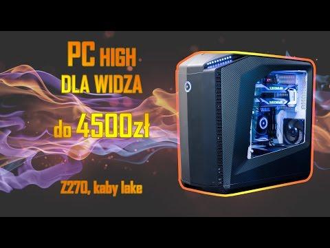 KOMPUTER DLA WIDZA Do 4500 PLN!!! - INTEL I5, GTX1060/GTX1070, DDR4, MSI TOMAHAWK Z270