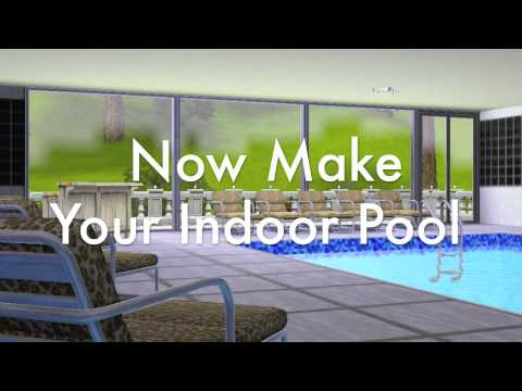 How to make an indoor pool in the sims 3 youtube for Building an indoor pool at home