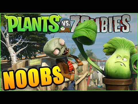 NOOBS NO PLANTS VS ZOMBIES