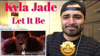 Reaction to Kyla Jade Let it Be MP3
