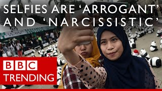 "Preacher v Selfies - Hizb ut-Tahrir member criticises selfies as ""arrogant"" and ""narcissistic."""