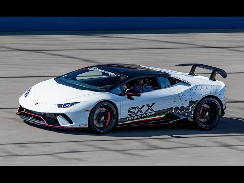 870 HP Supercharged Lamborghini Huracan Performante by VF Engineering - (Track) One Take