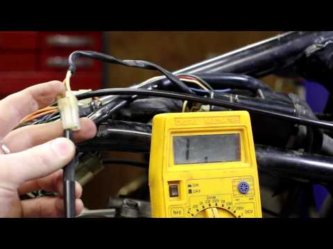 Testing your motorcycle coil