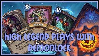 Hearthstone: High legend plays with Demonlock