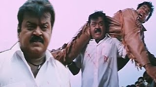 Vijayakanth Kills Rajat Bedi, The Return of Khuda Gawah - Action Scene 7/11