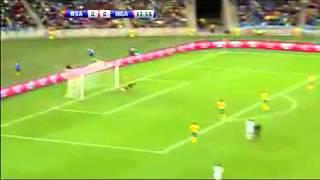 South Africa (0) vs Nigeria (2) - Nelson Mandela Challenge Highlights