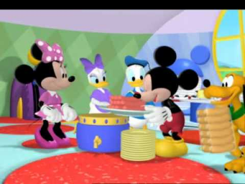 Mickey Fare Kulp Evinde Piknik Hazrl
