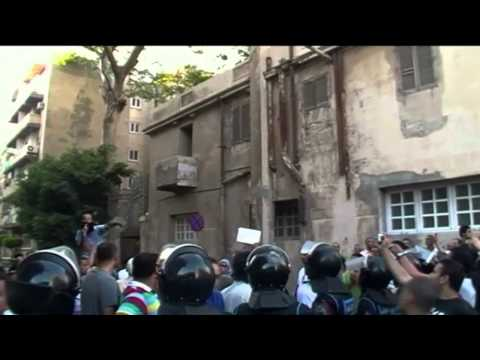 Egyptians Storm U.S. Embassy in Cairo