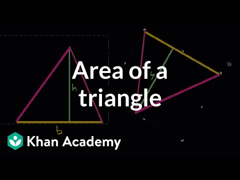 Intuition for area of a triangle
