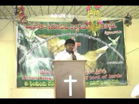 Telugu Christian Message(which Is Your Way?).flv video
