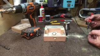 """Building a Stomp Box from a """"Tiny Cigar Box"""""""