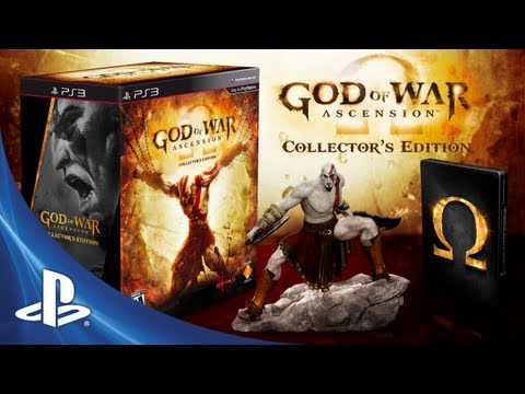 God of War presenta su edición coleccionista (VIDEO)