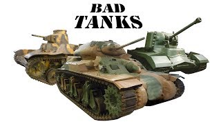 A poor tank, a useless tank, and the worst tank in the world