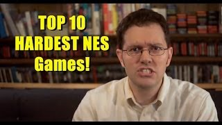 Top 10 Hardest NES Games - AVGN Clip Collection