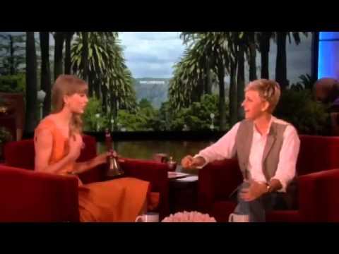 Ellen DeGeneres asked Taylor Swift about the men she's dated