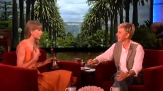 Ellen DeGeneres asked Taylor Swift about the men she