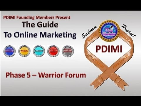 Warrior Forum Video For The Guide To Online Marketing