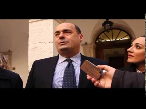 Il Presidente della Regione Zingaretti visita i cantieri PLUS di Cisterna