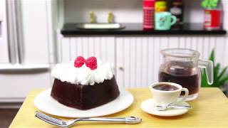 Happy Valentine Mini Choco Cake
