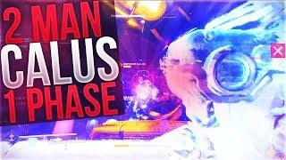 Fastest 2 Man Calus Kill (1 PHASE) Leviathan Raid D2 PC