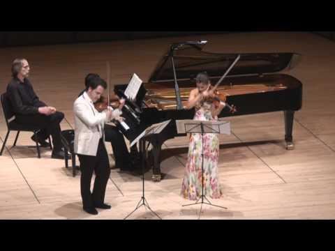Moszkowski Suite for Two Violins & Piano - 4th mvt. | G. Schmidt, B. Hristova, V. Asuncion