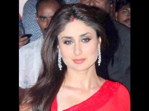 Kareena Kapoor Looks Hot Sexy In Red Saree & Sindoor video