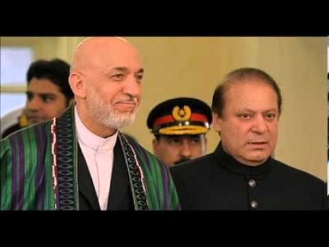 Nawaz Sharif Visits Afghanistan For Talks With Karzai