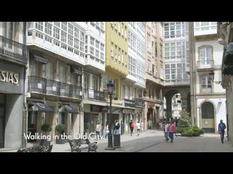 La Coruna Spain Shore Excursion - Walking in the Old City -...