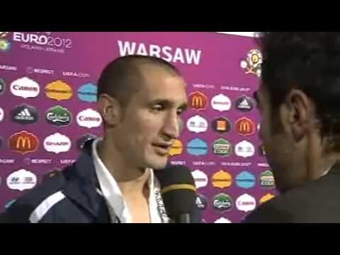 Intervista a Chiellini 28 giugno 2012