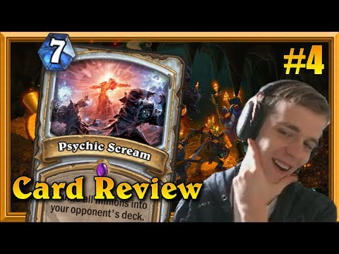 Is Psychic Scream The Best Priest Board Clear Yet? (K&C Card Review #4)