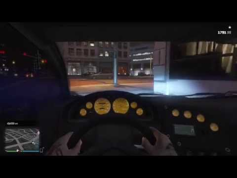 GTA 5 Online Free Roam PS4 Gameplay (1st Person)