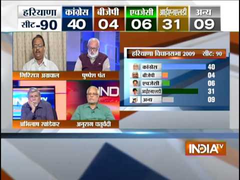 Assembly Elections LIVE: 56% Polling In Haryana ; Maharashtra Lagging - India TV