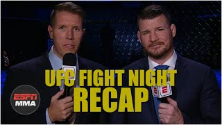 UFC Fight Night Recap: Jan Blachowicz edges out Jacare Souza in main event | ESPN MMA