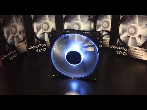 Cooler Master JetFlo 120 White 120mm Fan Overview