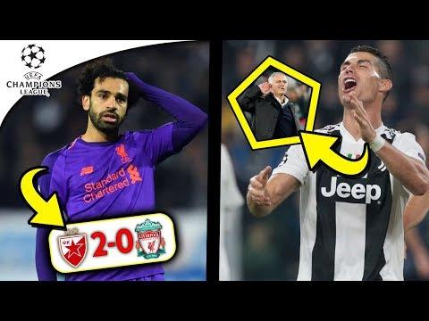 Döbbenet: Kikapott A Liverpool!! A Man. Utd Visszavágott A Juventusnak! | BL Magazin