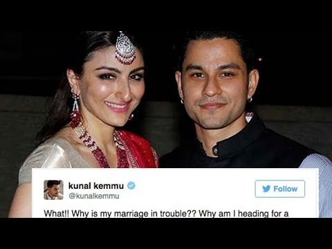 Kunal Kemmu Makes Divorce Rumours Declaration With Soha Ali Khan In Salman Khan Style