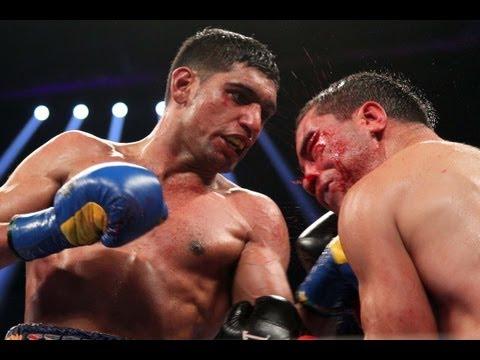 Showtime Boxing  Khan vs Molina Recap  Amir Khan Carlos Molina Alfredo Angulo Deontay Wilder