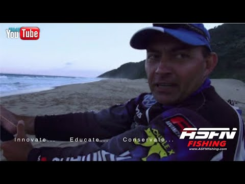 ASFN Team Shimano at Cape Vidal Rock & Surf fishing for big fish
