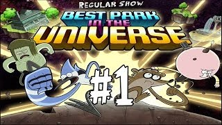Best Park In The Universe - Regular Show - The Park Level 1 - Walkthrough (Pops & Mordecai) HD