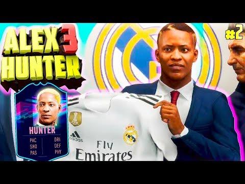 РЕАЛ МАДРИД КУПИЛ ХАНТЕРА !? | ИСТОРИЯ ALEX HUNTER 3 | FIFA 19 | #2 (РУССКАЯ ОЗВУЧКА)